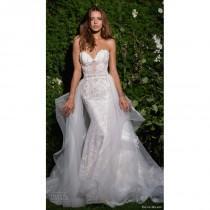 wedding photo - Eve of Milady Spring/Summer 2017 4358 Detachable Open Back Ivory Sheath Sleeveless Sweetheart Lace Beading Dress For Bride - Bonny Evening Dresses Online