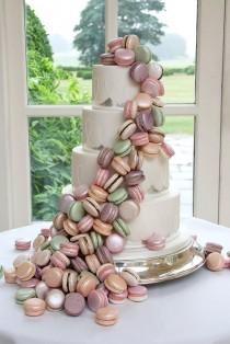 wedding photo - 33 Fascinating Wedding Cakes Pictures & Designs
