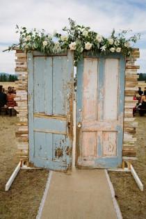 wedding photo - 10 Amazing Wedding Entrance Decoration Ideas For Ceremony - Page 2 Of 2