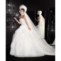 wedding photo - Delsa A1602 -  Designer Wedding Dresses