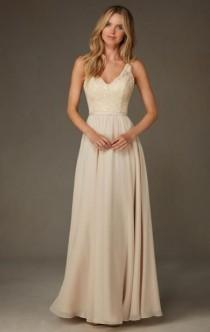 wedding photo - Gold/Champagne Bridesmaid Dresses