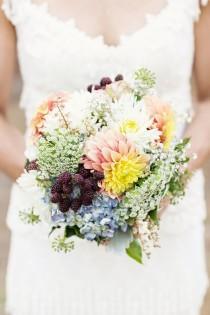 wedding photo - Wildflower Bouquets
