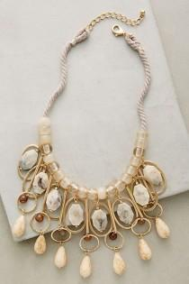 wedding photo - Trimurti Bib Necklace