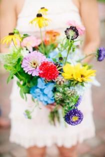wedding photo - Sweet Wedding Sunflowers