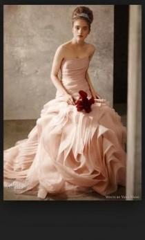 wedding photo - Vera Wang White Vw351011, $400 Size: 10