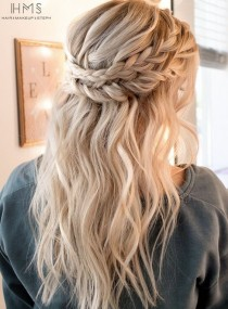 wedding photo - Wedding Hairstyle Inspiration - Hair And Makeup By Steph