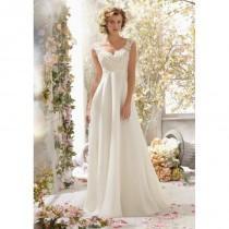 wedding photo - Voyage by Mori Lee 6778 Chiffon Lace Wedding Dress - Crazy Sale Bridal Dresses