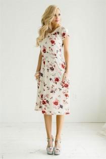 wedding photo - The Mila Floral Dress