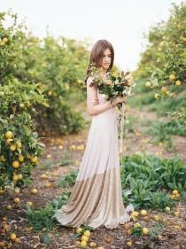 wedding photo - Coralie Beatrix Bella Luna Sequin Dipped Octopus Infinity Wrap Dress ~ Custom Combine Fabrics~ No Train ~Vintage, Prom, Bridal, Bridesmaids