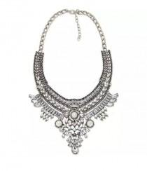 wedding photo - Zara Statement Necklace