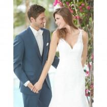 wedding photo - Allure Romance 2013 Promo 2606F-SlateTux - Stunning Cheap Wedding Dresses