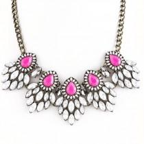 wedding photo - Fuschia Statement Necklace
