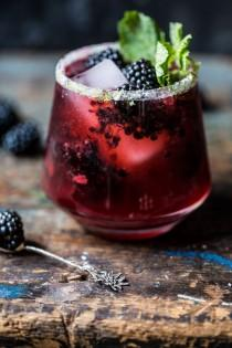 wedding photo - Blackberry Bourbon Smash
