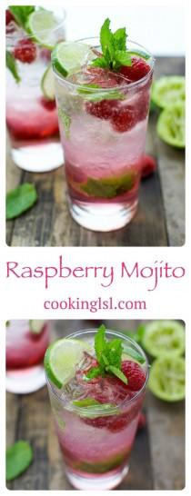 wedding photo - Raspberry Mojito