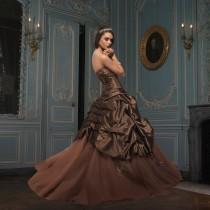 wedding photo - Tomy Mariage, Chana-Cocoa-Silver_0070 - Superbes robes de mariée pas cher