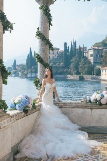 wedding photo - Gorgeous Lake Como Wedding With Epic Fashion-Style Photography
