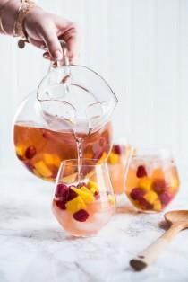 wedding photo - Sparkling Summer Solstice Sangria
