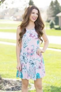 wedding photo - Every Day Is A Journey Floral Dress