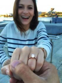 wedding photo - Dream Engagement And Wedding Rings