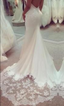 wedding photo - Kenneth Pool Carina, $2,850 Size: 8