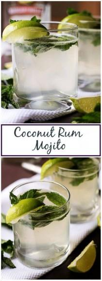 wedding photo - Coconut Rum Mojito