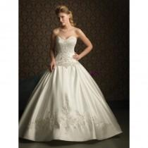 wedding photo - Allure Bridals 8759 Satin Ball Gown Wedding Dress - Crazy Sale Bridal Dresses