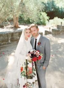 wedding photo - Petra Cortright & Marc Horowitz's Chic Picnic Wedding In Santa Barbara