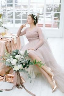 wedding photo - Bodas En Mármol Y Cobre: Elegante, Atemporal Y En Tendencia
