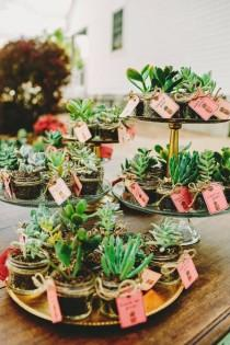 wedding photo - 70  Eye-Popping Succulent Wedding Ideas