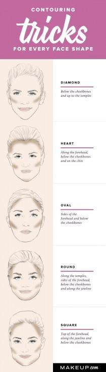 wedding photo - How To Contour For Your Face Shape