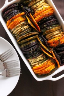 wedding photo - Fancy Shmancy Herb Roasted Root Vegetables