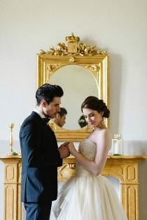 "wedding photo - ""A Song of Love"": Inspiration for an Italian Castle Wedding"