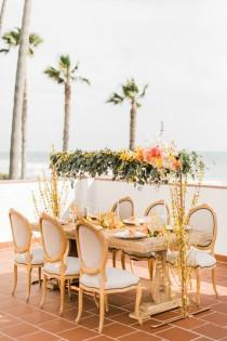 wedding photo - Citrus-Inspired Tropical Wedding Shoot - Weddingomania