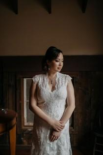 wedding photo - A sweet and chill farm wedding with an Old West vibe