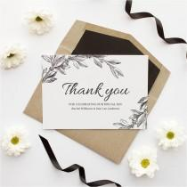 wedding photo - 5 Tips for Writing your Wedding Thank You Cards - Modern Wedding
