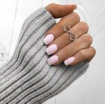 wedding photo - Baby Pink Nails