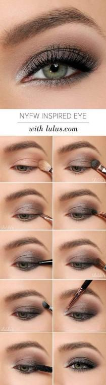 wedding photo - NYFW Inspired Eye Makeup