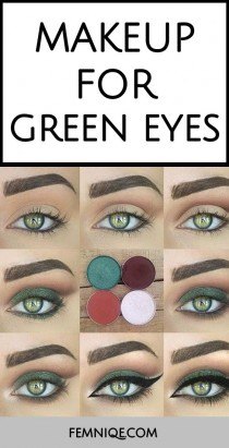 wedding photo - Makeup For Green Eyes