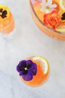 wedding photo - Pineapple And Carrot Gin Punch