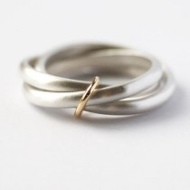 wedding photo - Silver Ring (nr08)