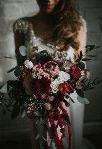 wedding photo - Märchenhaft Heiraten: Die Schönsten Ideen Für Euren Brautstrauß Im Winter