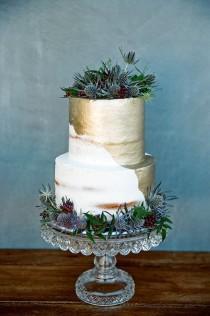 wedding photo - The Naked Cake - Back To Basics
