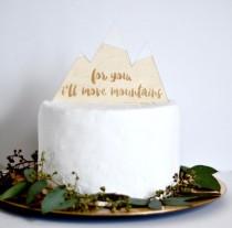 wedding photo - Greatest Adventure Cake Topper