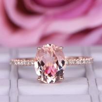 wedding photo - Popular Morganite Engagement Rings
