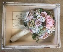 wedding photo - Floral Preservation for Wedding Bouquets in Shadow Box (Local NY/Long Island Area Only - Will Not Ship)