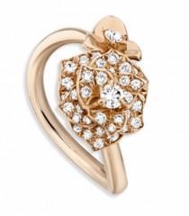 wedding photo - 2017 Piaget Rose Collection Diamond 18K Gold Ladies Luxury Ring