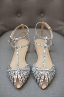 wedding photo - Os Melhores Do Pinterest: Sapatos Flat Para Noivas