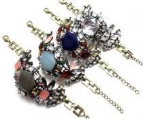 wedding photo - Luxe Crystal Compilation Bracelet