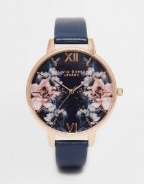 wedding photo - Olivia Burton Exclusive Floral Big Dial Watch