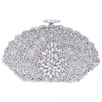 wedding photo - Luxury Crystal Clutch Bag